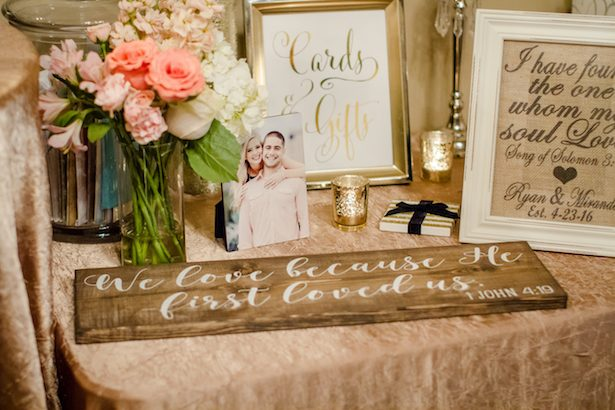 Wedding Gift Table Ideas Freeland Photography Belle