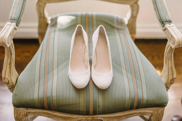 Wedding shoes - Hunter Photographic