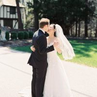 Wedding kiss - Hunter Photographic