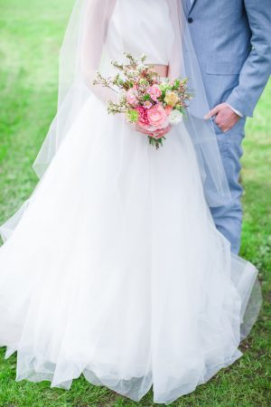Spring wedding photo - Caroline Ross Photography