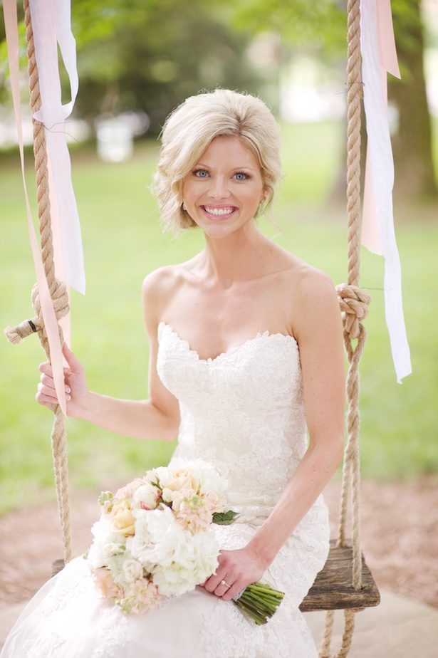 Beautiful bridal picture - Justine Wright Photography