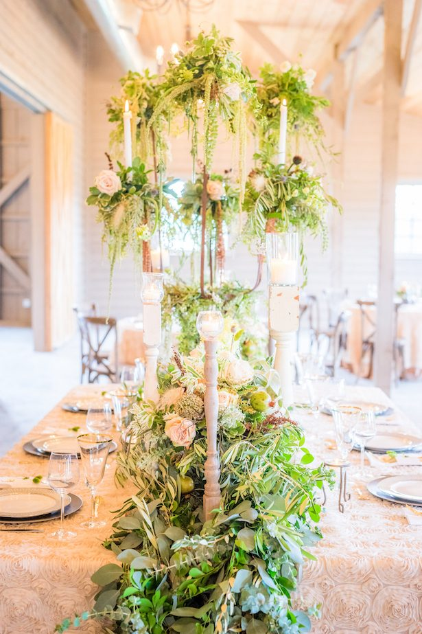 Beautiful wedding centerpiece - PPD Studios