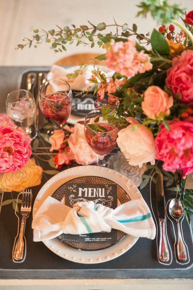 Beautiful wedding decor - Gideon Photography