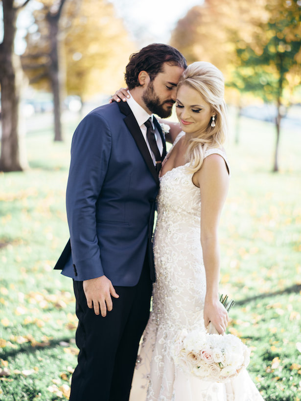 Classically romantic kansas city wedding belle the magazine for Wedding dress rental kansas city