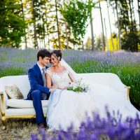Lavender Wedding Inspiration - Kristen Borelli Photography