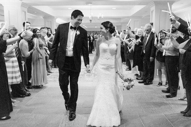 Black and white wedding picture – Alicia Lacey Photography
