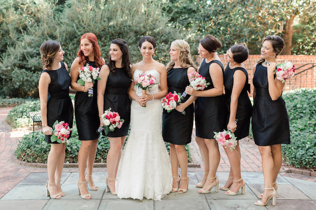Black bridesmaid dresses - Alicia Lacey Photography