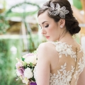 Bridal hair piece - L'estelle Photography