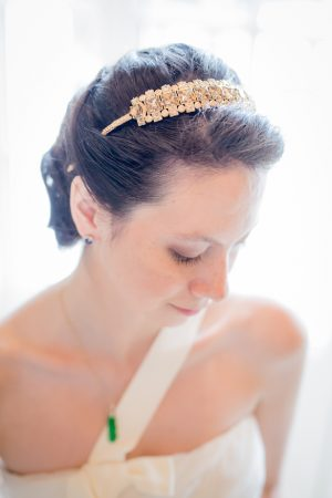 Bridal head piece - Pierre Paris Photography