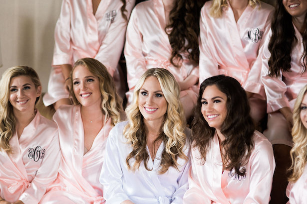 Bridesmaid robes - Style and Story Photography