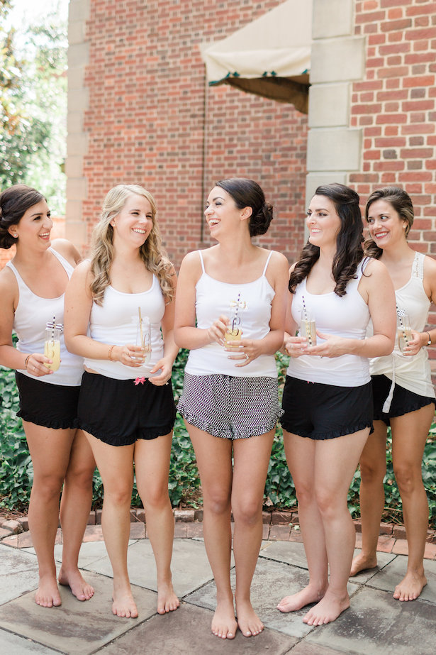 Bridal party getting ready - Alicia Lacey Photography