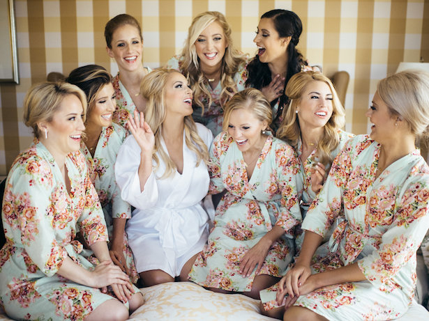 Bridesmaid Robes - The WaldronPhotography