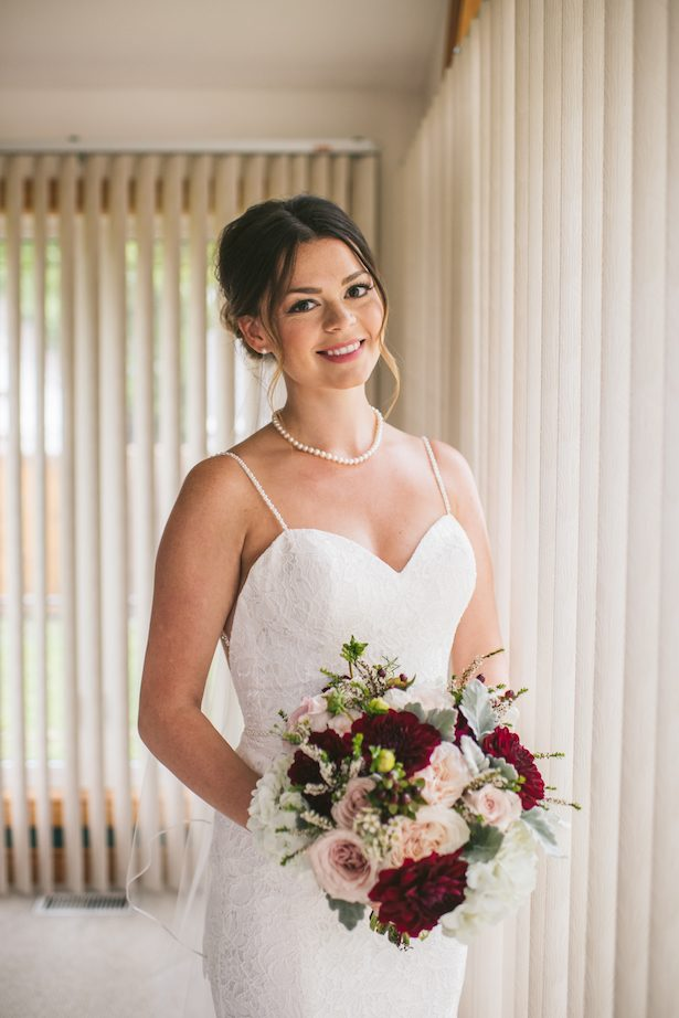 Rainy Wedding Day in Ontario