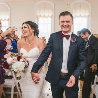 Bride and groom ceremony pictures - Manifesto Photography (W& Q)