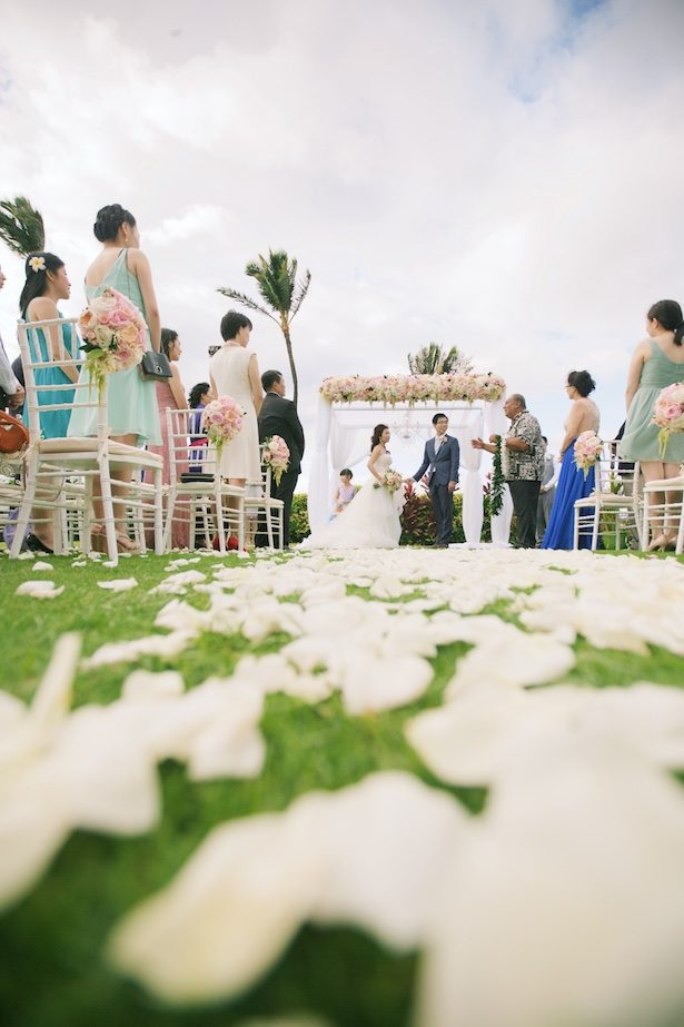 Outdoor Wedding Ceremony - Anna Kim Photography