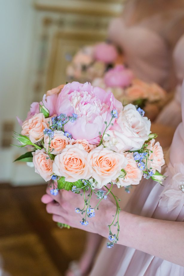 Pink Wedding bouquet - Pierre Paris Photography
