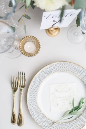Classic wedding table decor - Kiel Rucker Photography