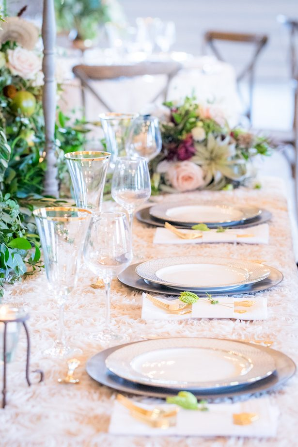 Classic wedding tablescape - PPD Studios