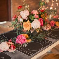 Chalkboard Wedding Inspiration - Gideon Photography