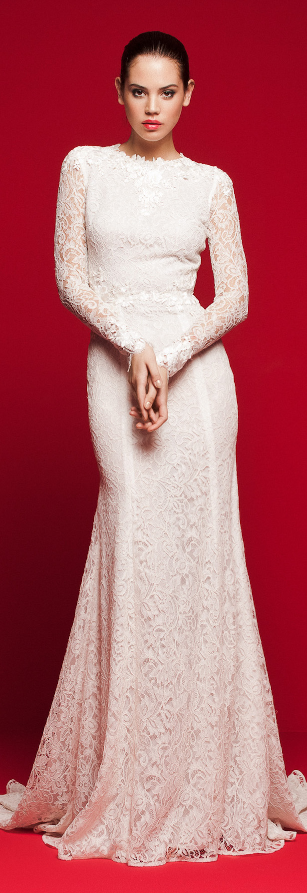 Long sleeve fitted Wedding Dress - Daalarna 2018 Love Story Bridal Collection
