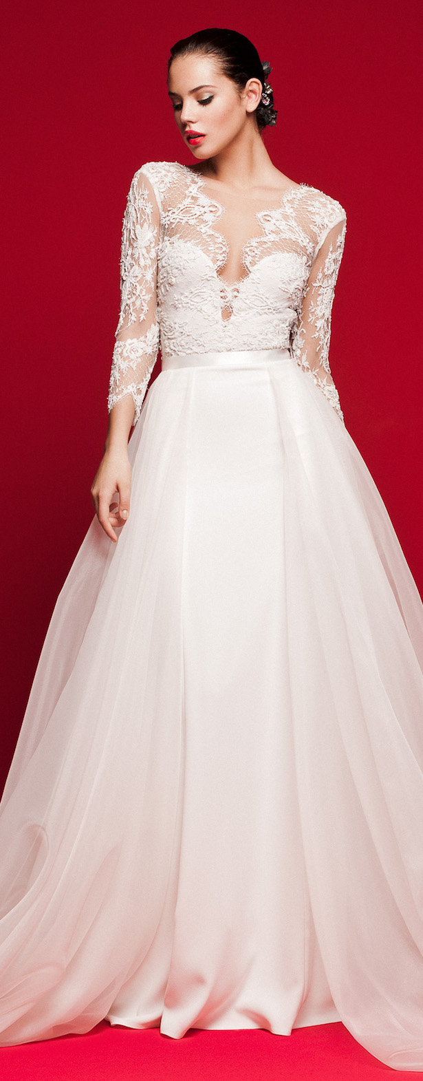 Wedding dress 2018 trends