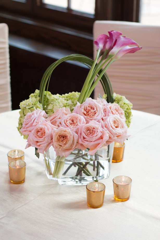 Floral wedding centerpiece - Ace Cuervo Photography