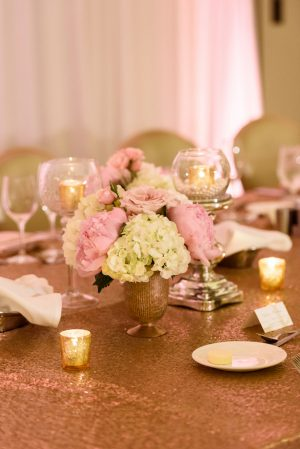 Floral wedding centerpiece - Katie Whitcomb Photographers