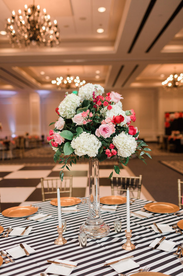 Tall wedding centerpiece - Alicia Lacey Photography