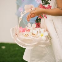 Flower girl basket - Anna Kim Photography