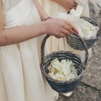 Flower girl baskets - The White Tree Photography