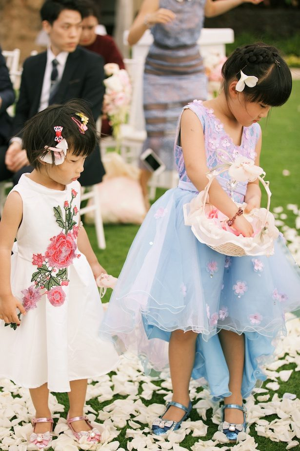 Flower girl dresses - Anna Kim Photography