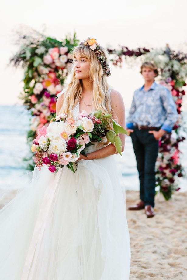Fresh Floral-Inspired Wedding Fashion
