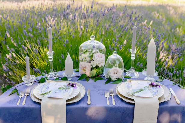 Garden wedding decor - Kristen Borelli Photography