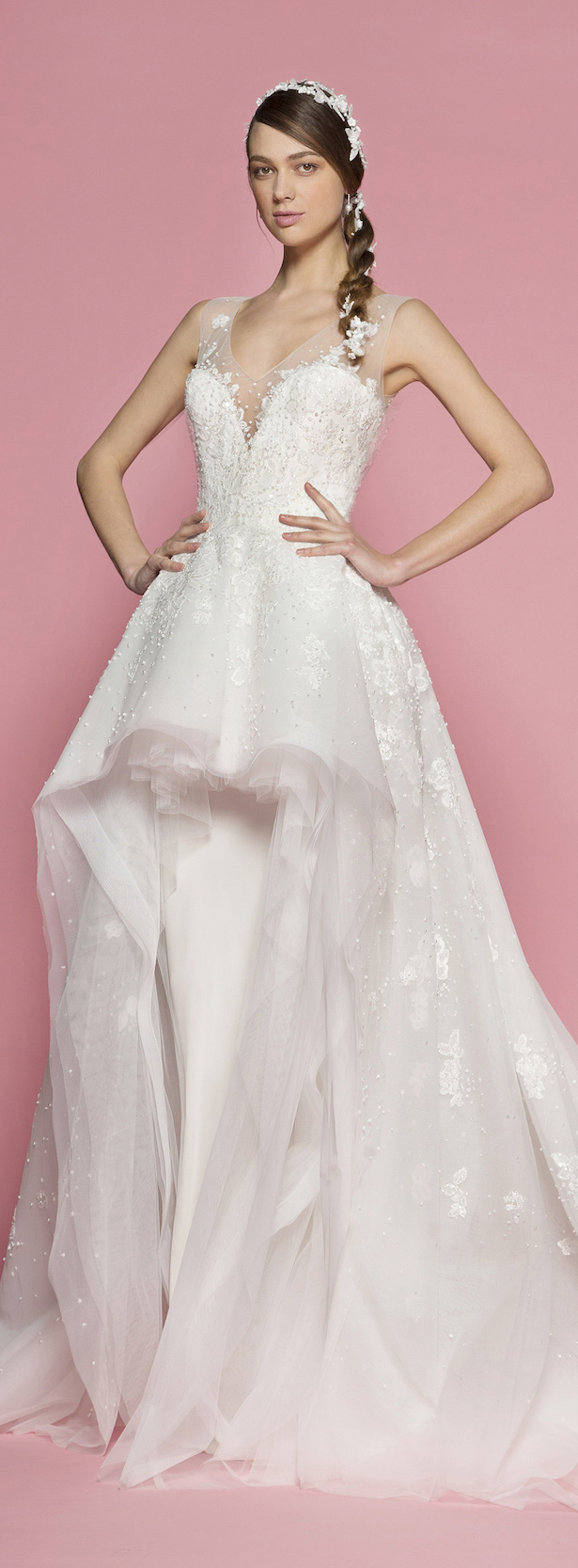 Light Pink Wedding Gowns