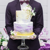 Gorgeous wedding cake - L'estelle Photography