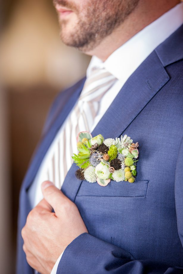 Groom boutonniere - PPD Studios