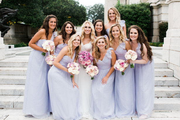 Lavender bridesmaid dress - Style and Story Photography