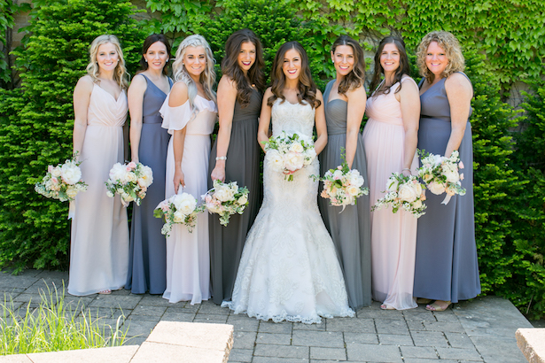 Long bridesmaid dresses - Erin Johnson Photography
