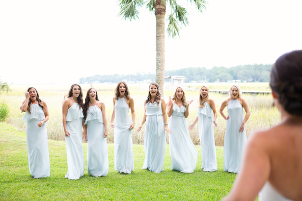 Long bridesmaid dresses - Sunny Lee Photography