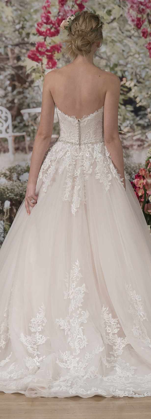 Wedding Dress by Maggie Sottero Fall 2017 NYBFW Runway Show