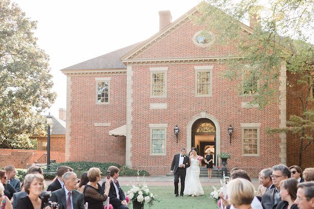 Outdoor wedding ceremony – Alicia Lacey Photography