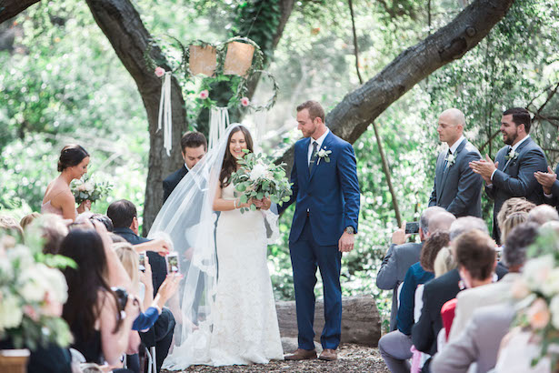 Outdoor wedding ceremony - Kiel Rucker Photography