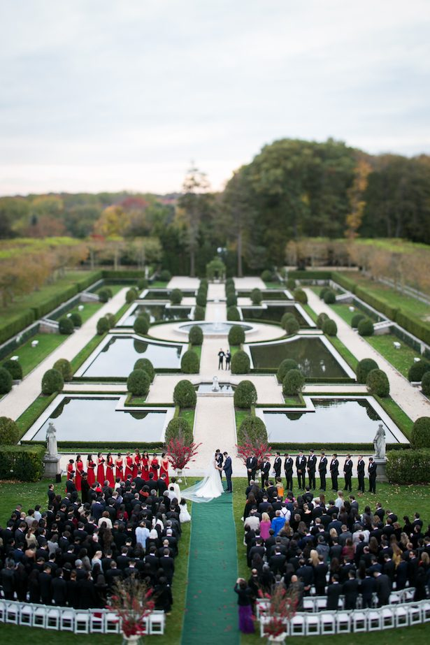 Outdoor wedding ceremony - Cody Raisig Photography