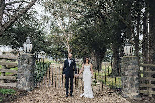 Outdoor wedding photo - The White Tree Photography