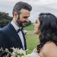 Outdoor wedding picture - The White Tree Photography