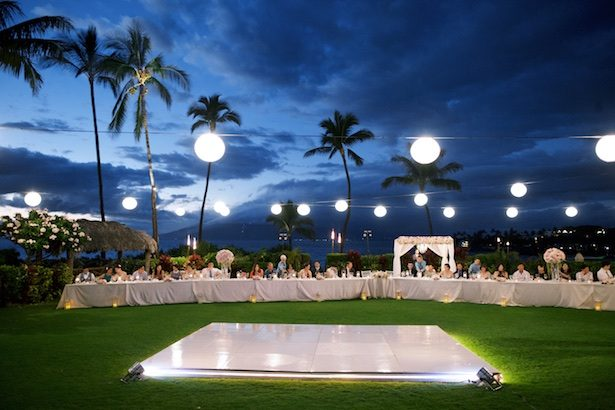 Outdoor wedding reception - Anna Kim Photography