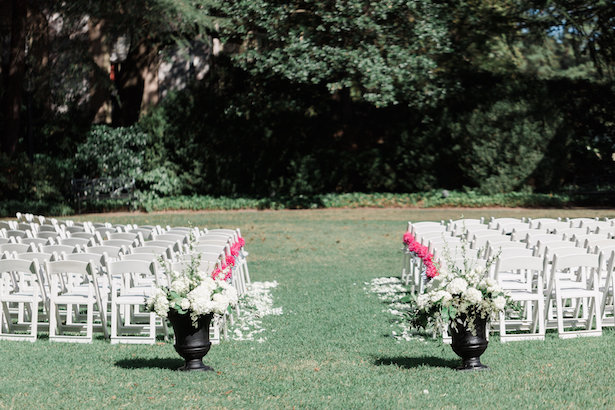 Outdoor weeding ceremony - Alicia Lacey Photography