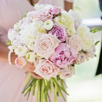 Elegant Gold and Pink Wedding