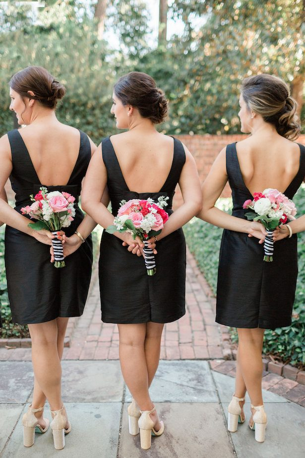 Short Black bridesmaid dresses- Alicia Lacey Photography