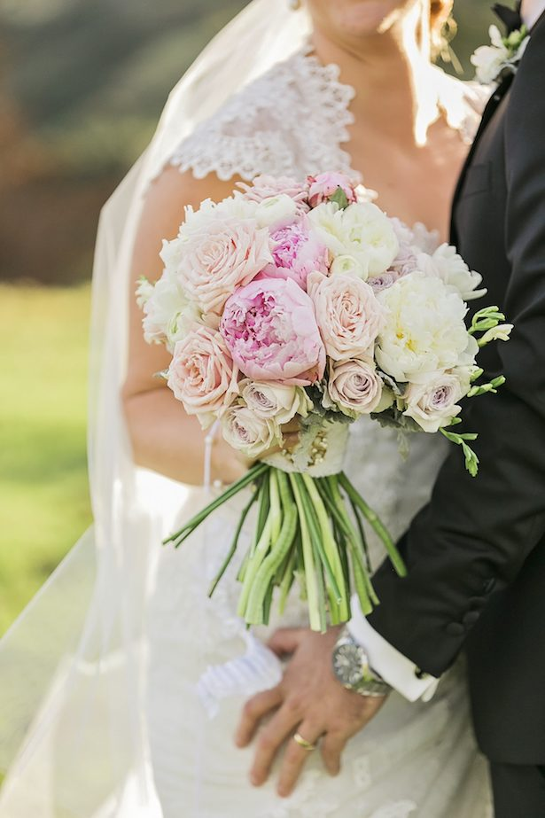 Pink bridal bouquet - Calli B Photography's